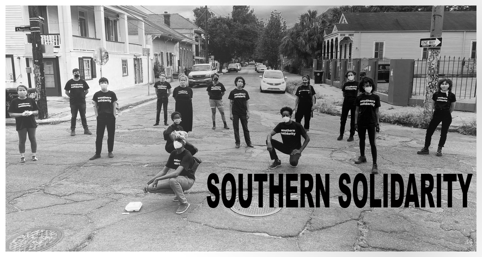 A group photo of Southern Solidarity